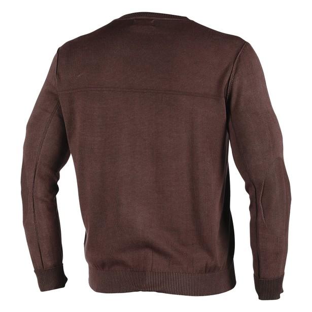 HELMORE SWEATER DARK BROWN- Casual Wear