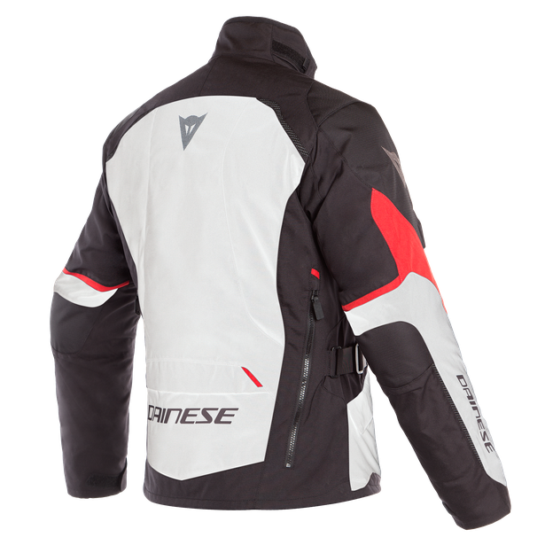 TEMPEST 2 D-DRY JACKET LIGHT-GRAY/BLACK/TOUR-RED- D-Dry®