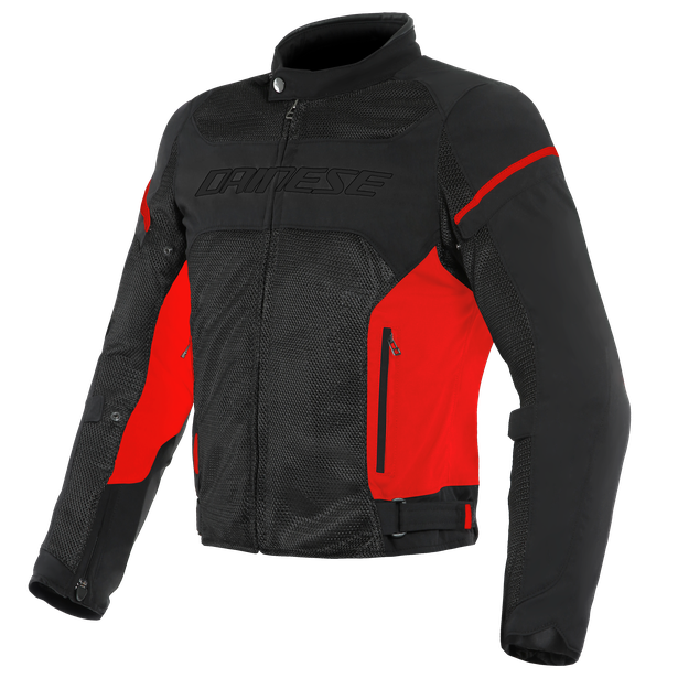 AIR FRAME D1 TEX JACKET BLACK/RED/RED- Textile