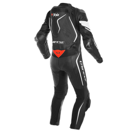 MISANO 2 D-AIR PERF. 1PC SUIT BLACK/BLACK/WHITE- Einteiler