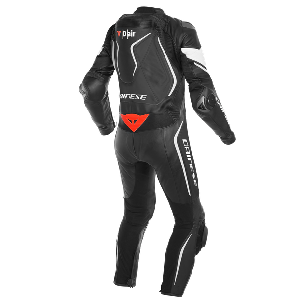 MISANO 2 D-AIR PERF. 1PC SUIT BLACK/BLACK/WHITE- D-air