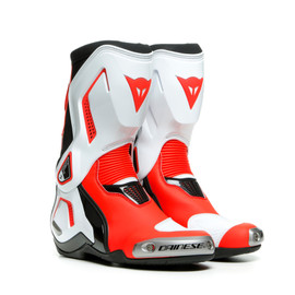 TORQUE 3 OUT LADY BOOTS BLACK/WHITE/FLUO-RED- Motorbike for her