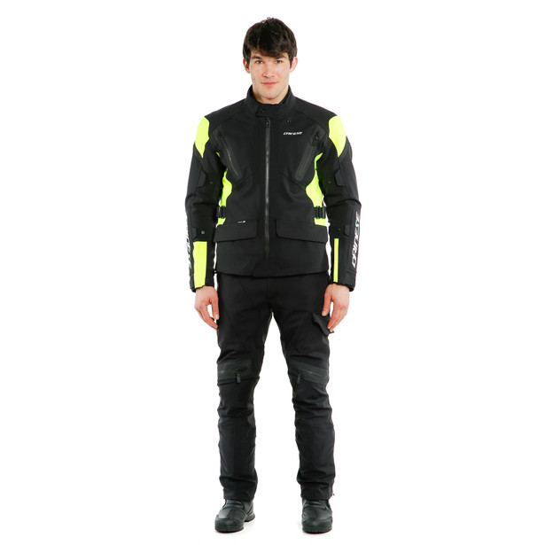 TONALE D-DRY® JACKET BLACK/FLUO-YELLOW/BLACK- D-Dry®