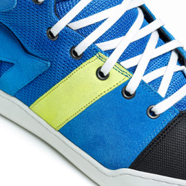 YORK AIR SHOES PERFORMANCE-BLUE/FLUO-YELLOW- Shoes