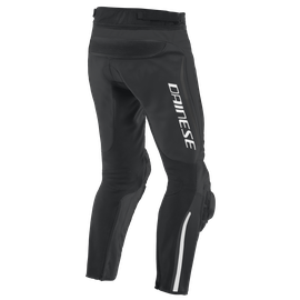ALPHA PERF. LEATHER PANTS BLACK/BLACK/BLACK- Leather