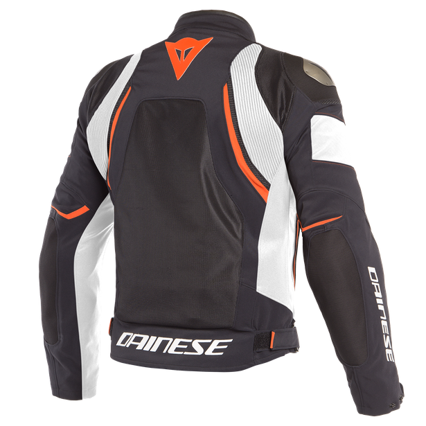 DINAMICA AIR D-DRY JACKET BLACK/WHITE/FLUO-RED- D-Dry®