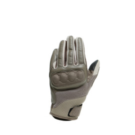 SABHA GLOVES BUNGEE-CORD/FEATHER-GRAY