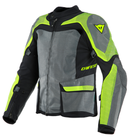 SOLARYS TEX JACKET BLACK/ANTHRACITE/FLUO-YELLOW