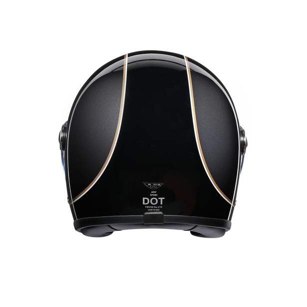 X3000 MULTI DOT - SUPER AGV BLACK/GREY/YELLOW - X3000