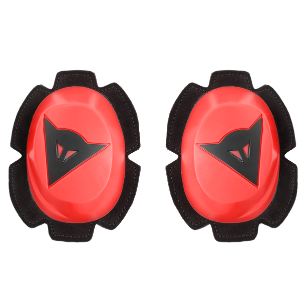 PISTA RAIN KNEE SLIDER FLUO-RED/BLACK- Knees