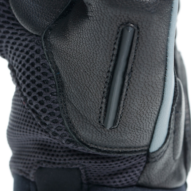D-EXPLORER 2 GLOVES BLACK/EBONY- Cuir