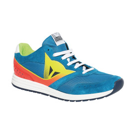 PADDOCK SKY-BLUE/FLUO-RED- Shoes