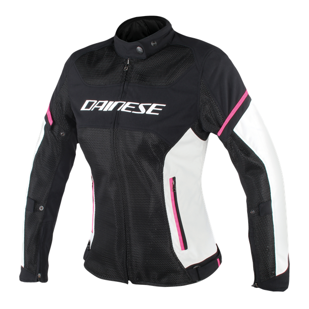 AIR FRAME D1 LADY TEX JACKET BLACK/VAPOROUS-GRAY/FUXIA- Textile