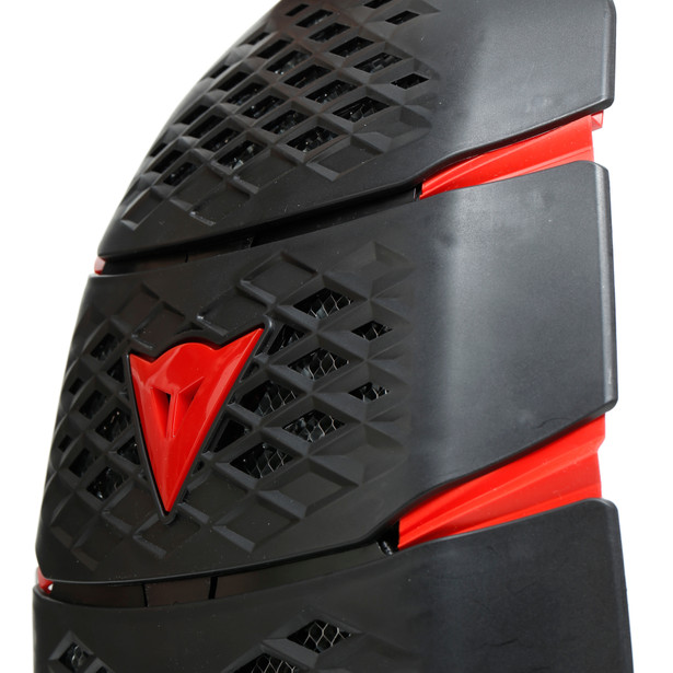 PRO-SPEED BACK - SHORT BLACK/RED- Rückenschutz