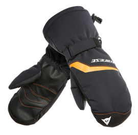 SCARABEO GLOVES STRETCH-LIMO/RUSSET-ORANGE- Scarabeo