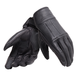 HI-JACK UNISEX GLOVES BLACK- Leder