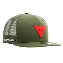DAINESE 9FIFTY TRUCKER SNAPBACK CAP  GREEN/RED- Caps & Hats