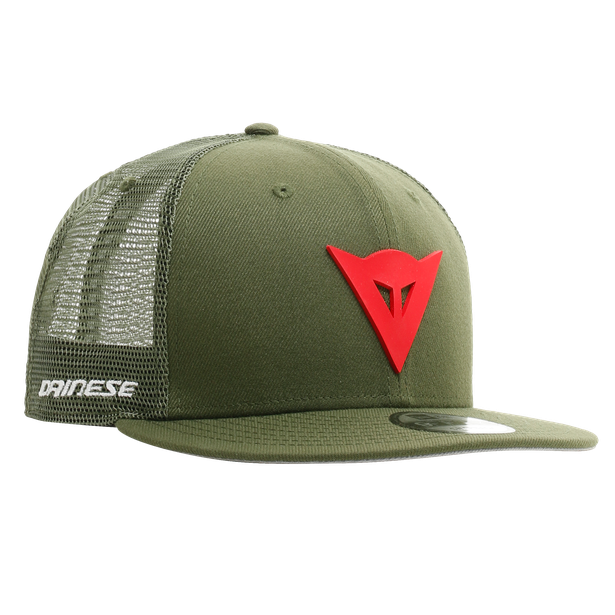 DAINESE 9FIFTY TRUCKER SNAPBACK CAP  GREEN/RED- Accessoires