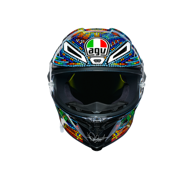 PISTA GP R LIMITED EDITION ECE DOT - ROSSI WINTER TEST 2018 - Pista GP R