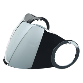 Visor CITY 18-1 IRIDIUM SILVER - Accessori