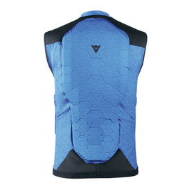 FLEXAGON WAISTCOAT MAN NAUTICAL-BLUE/BLUE-JEWEL- Back