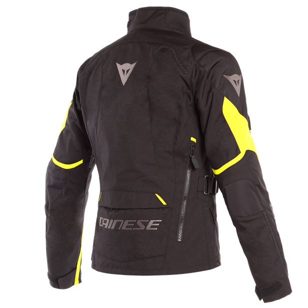TEMPEST 2 D-DRY LADY JACKET BLACK/BLACK/FLUO-YELLOW- Jacken