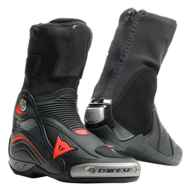 AXIAL D1 AIR BOOTS BLACK/FLUO-RED