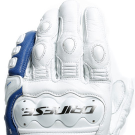 4-STROKE 2 GLOVES WHITE/LIGHT-BLUE- Gloves