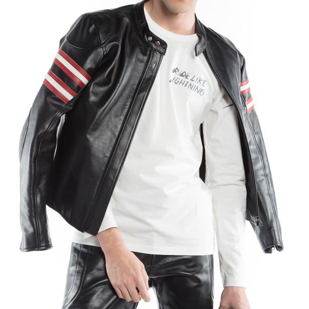 RAPIDA72 LEATHER JACKET - Motorbike