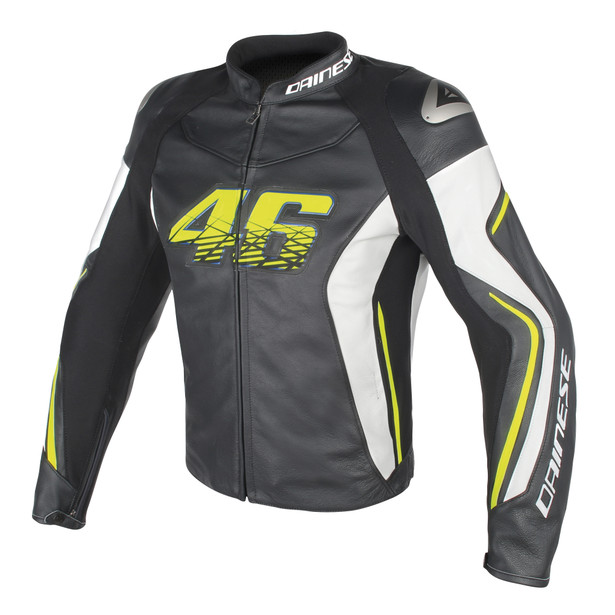 VR46 D2 LEATHER VR46- Jackets