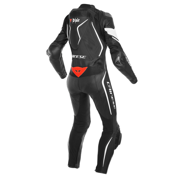 MISANO 2 LADY D-AIR PERF. 1PC SUIT BLACK/BLACK/WHITE- D-air