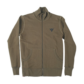 N'JOY FULL ZIP SWEATSHIRT ARMY-GREEN