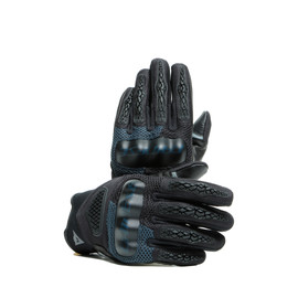 D-EXPLORER 2 GLOVES BLACK/EBONY- Leder