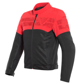 AIR-TRACK TEX JACKET BLACK/RED- Textil