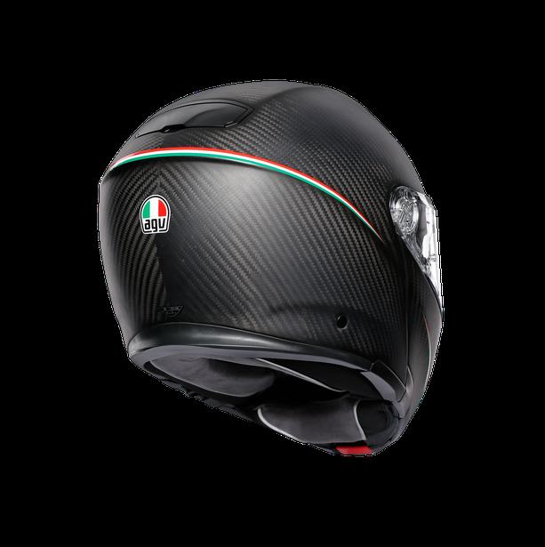SPORTMODULAR MULTI E2205 - TRICOLORE MATT CARBON/ITALY - helmets