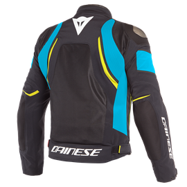 DINAMICA AIR D-DRY JACKET BLACK/FIRE-BLUE/FLUO-YELLOW- D-Dry®