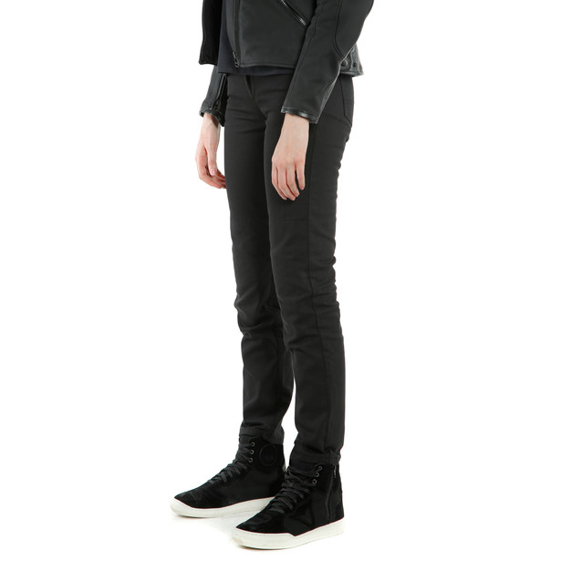 CLASSIC SLIM LADY TEX PANTS BLACK- Women