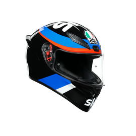 K1 REPLICA ECE DOT - VR46 SKY RACING TEAM BLACK/RED