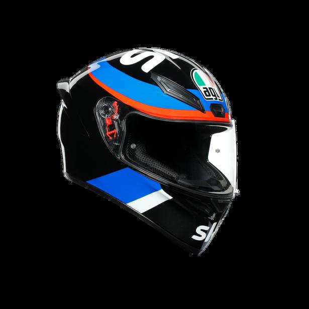K1 REPLICA ECE DOT - VR46 SKY RACING TEAM BLACK/RED - undefined