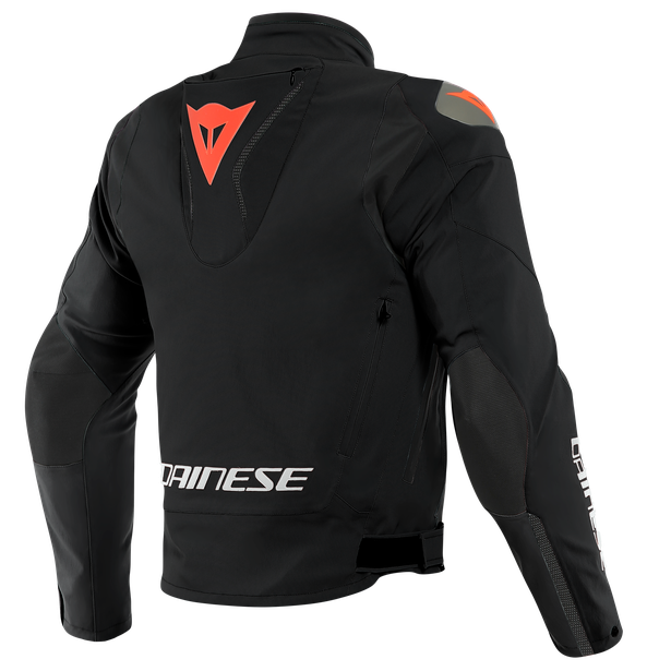INDOMITA D-DRY XT JACKET BLACK-MATT/BLACK-MATT/FLUO-RED- D-Dry®