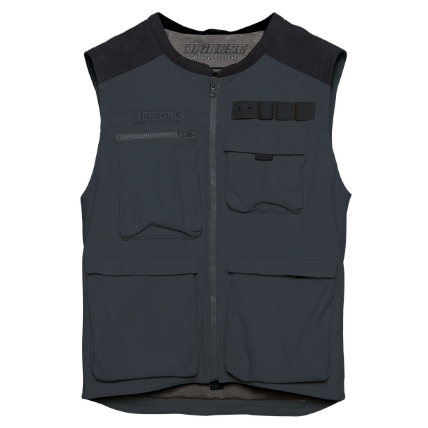 DJADO TEX VEST EBONY- Textile