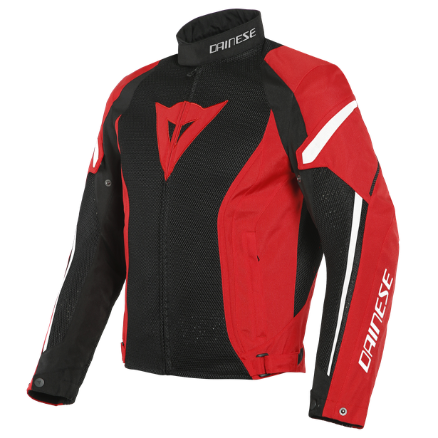 AIR CRONO 2 TEX JACKET BLACK/RED/WHITE- Textile