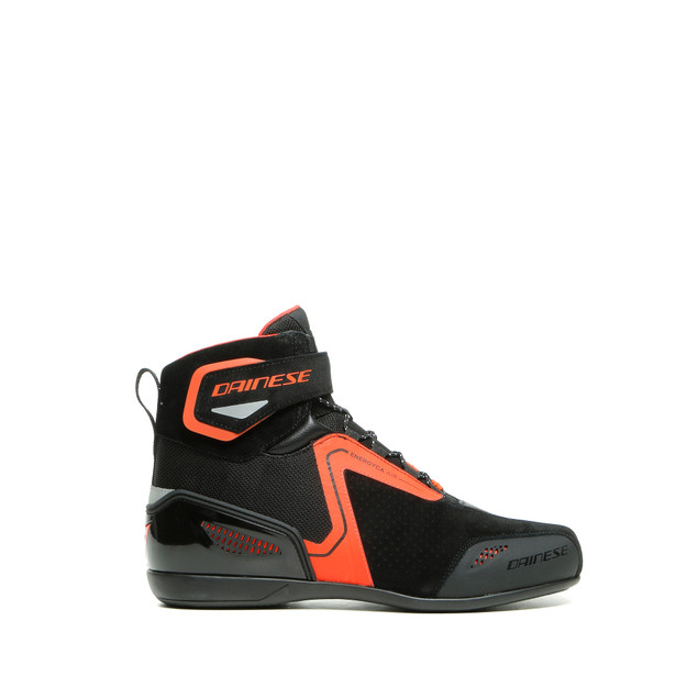 ENERGYCA AIR SHOES BLACK/FLUO-RED- undefined