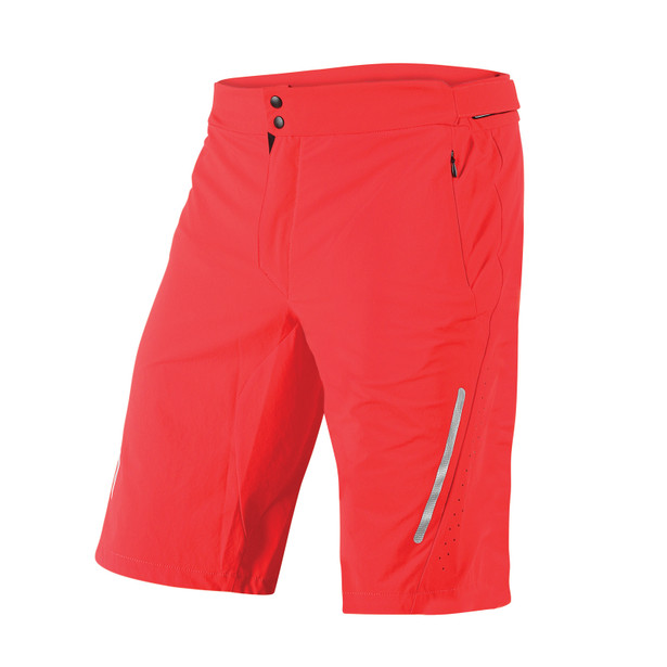 TERRATEC SHORTS RED- Hosen