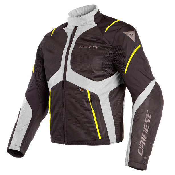 SAURIS D-DRY JACKET BLACK/QUARRY/FLUO-YELLOW- D-Dry®