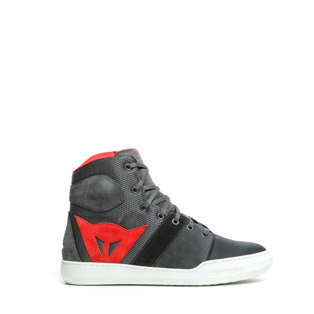 YORK AIR SHOES PHANTOM/RED- Tessuto