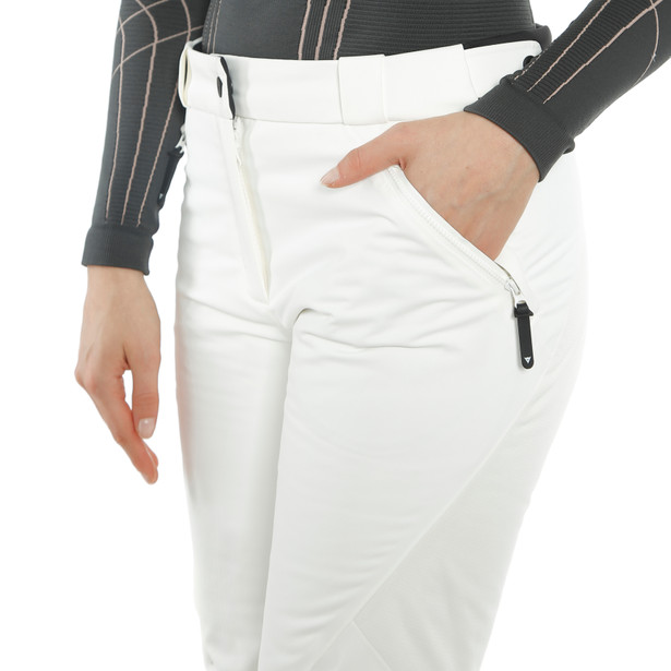 HP SNOWBURST PANTS WMN STAR-WHITE/BLACK-TAPS- undefined