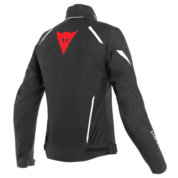 LAGUNA SECA 3 LADY D-DRY® JACKET BLACK/LAVA-RED/WHITE- D-Dry®