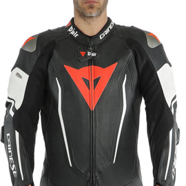 MISANO 2 D-AIR PERF. 1PC SUIT BLACK/BLACK/WHITE- One Piece Suits