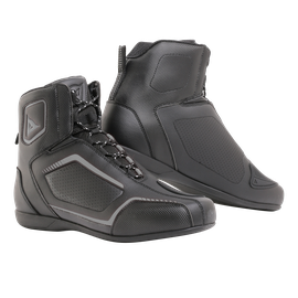 RAPTORS AIR  SHOES BLACK/BLACK/ANTHRACITE- Pelle